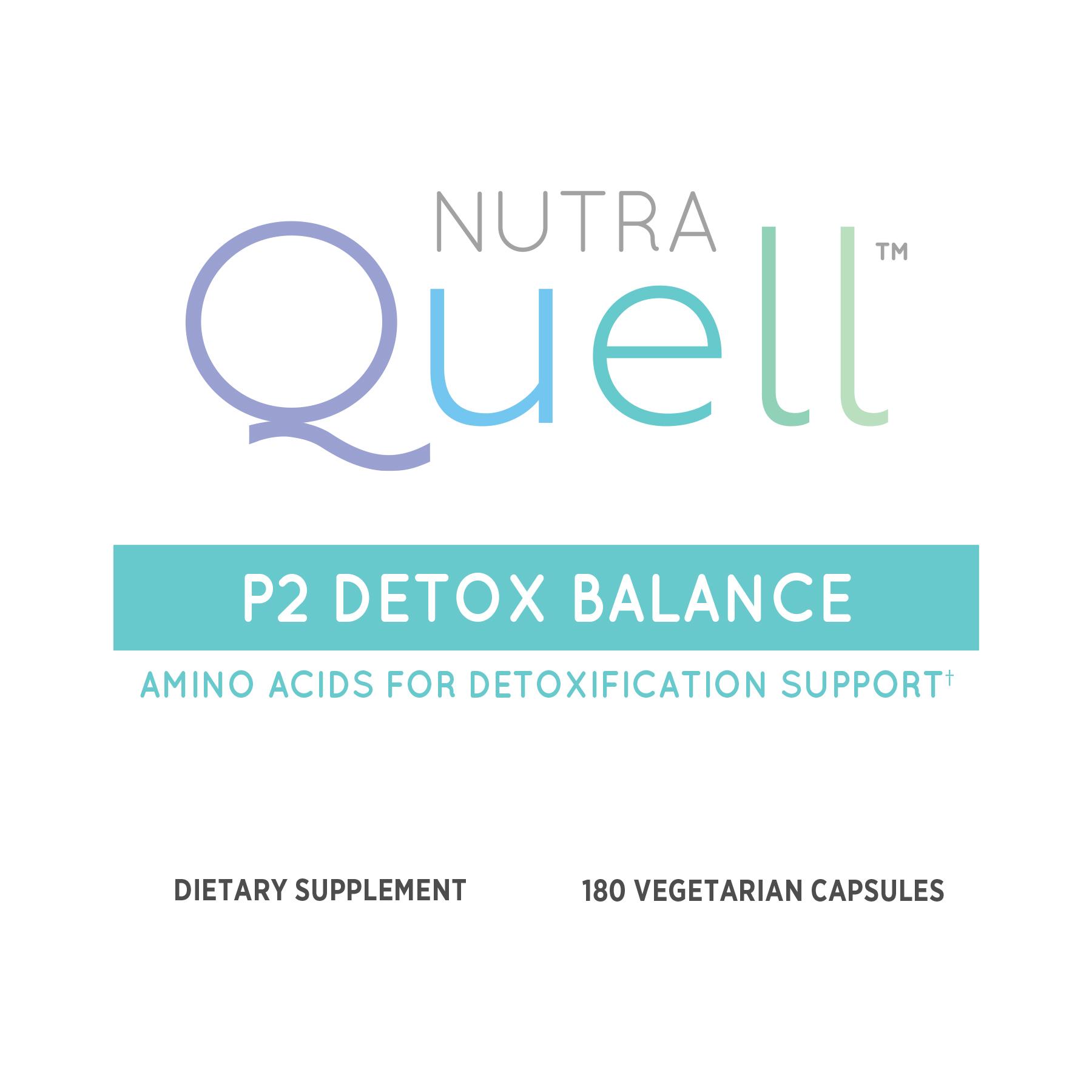 P2 Detox Balance Front Label