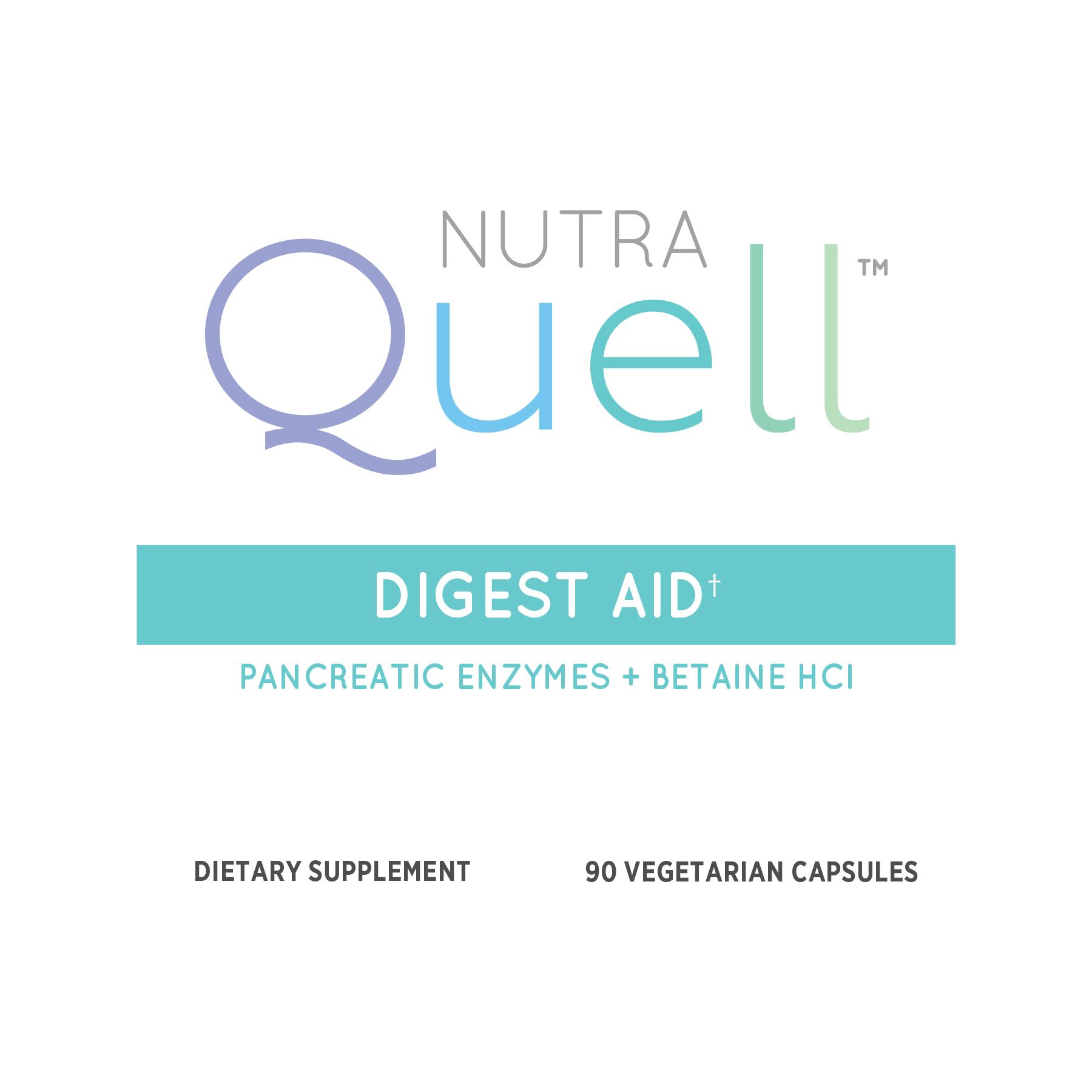 Digest Aid Front Label