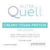 Creamy Vegan Protein (Vanilla) Front Label