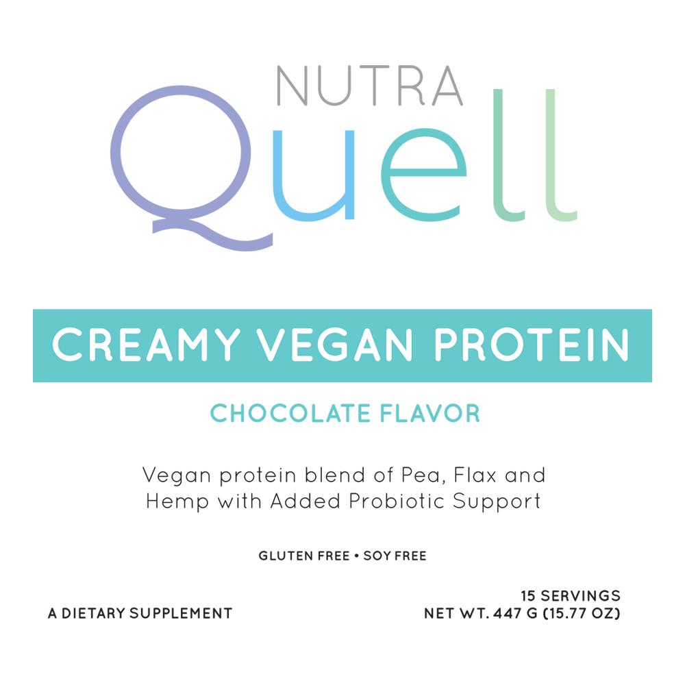 Vegan Protein Front Label