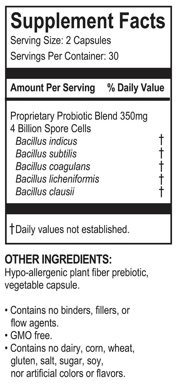 Megaspore Biotic Ingredients
