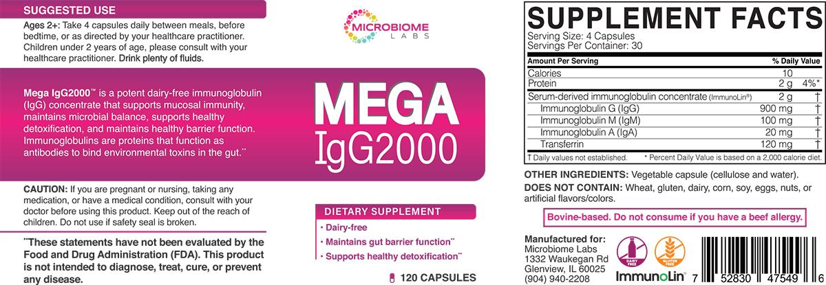 IgG2000 Label